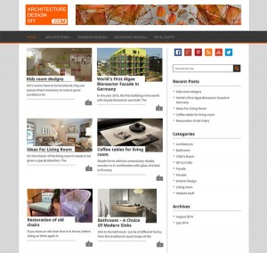ArchitectureDesignDIY - WordPress Set Up, Web Design, Search Engine Optimization (SEO)