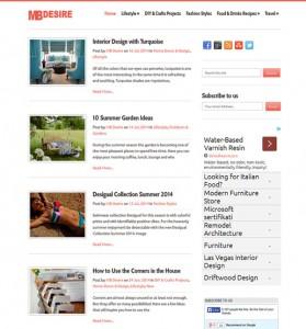 MBDesire - On-Site Search Engine Optimization (SEO), WordPress Blog Theme Customization