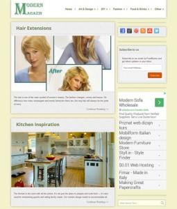 Modern Magazin - On-Site SEO (Search Engine Optimization), WordPress Blog Theme Customization