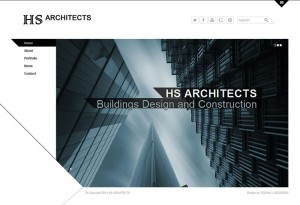 HS Achitects - Web Design and Development, Blog, Social Media Consulting